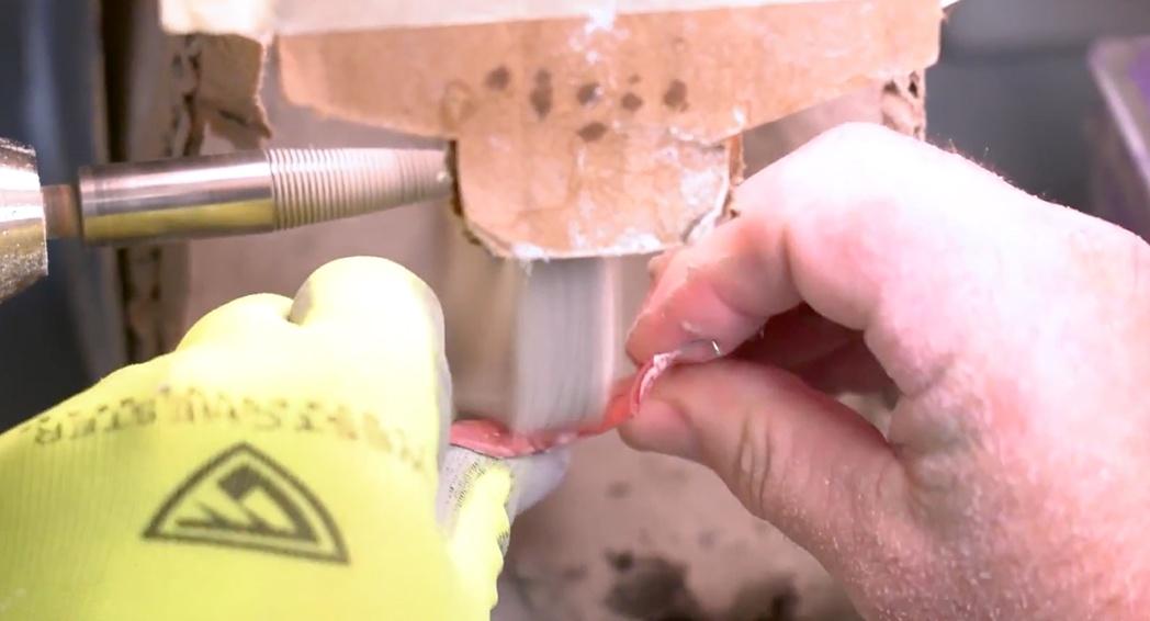 Hawley Retainer - Polishing