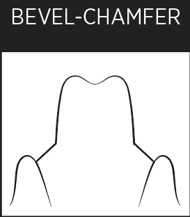 Dental Margin - Bevel Chamfer