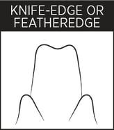 Dental Margin - Knife-Edge Or Featheredge